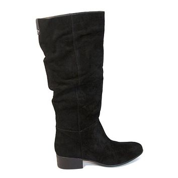 Steve Madden Pondrosa - Black Suede Tall Boot