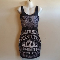 Ouija Board Bodycon Dress,