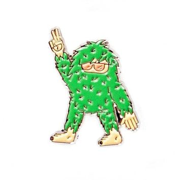 Cool Sasquatch Pin