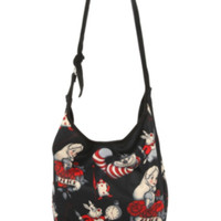 Disney Alice In Wonderland Tattoo Hobo Bag