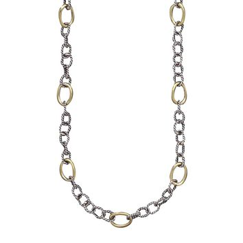 "Waxing Poetic Twisted Link 20"" Chain Necklace"