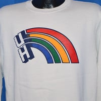 80s University of Hawaii Rainbow Sweatshirt Medium