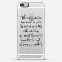 When Harry Met Sally iPhone 6 Plus case by Noonday Design | Casetify