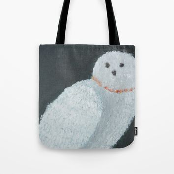 The Snowy Owl Tote Bag by Lindsay