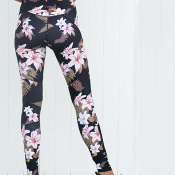 Women Floral Leggings