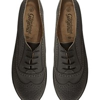 New Look Koffee 2 Flat Shoes at asos.com