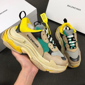 Balenciaga Triple-S Xia Gu jogging shoes-11