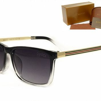 Gucci sunglass AA Classic Aviator Sunglasses, Polarized, 100% UV protection [2974244888]