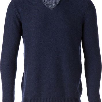 Roberto Collina intarsia knit sweater