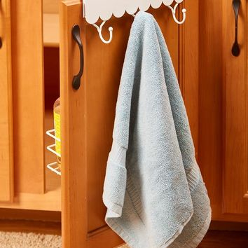 Over-the-Cabinet Hooks and Storage Baskets