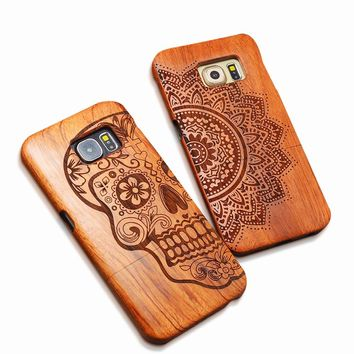 Natural Wood Case For iPhone & Samsung Galaxy