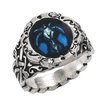 Draconis Celtica Ring - New Age, Spiritual Gifts, Yoga, Wicca, Gothic, Reiki, Celtic, Crystal, Tarot at Pyramid Collection