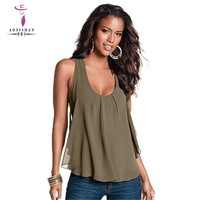Casual Solid Summer Women Tank Top