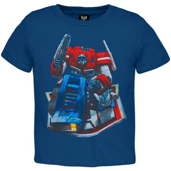 Transformers - Kneeling Optimus Prime Juvy T-Shirt