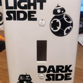 Star Wars BB-8 and BB-9E Light Switch Cover Plate Decal
