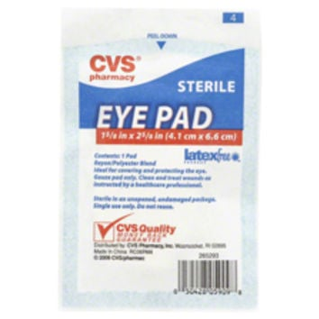 CVS Sterile Eye Pad 1 5/8in x 2 5/8in - CVS.com