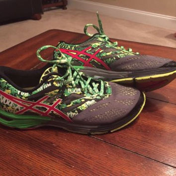 ASICS GEL Noosa Tri 10 Men Running Shoes 7323 Size 8.5 Preowned