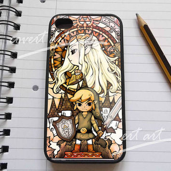 The Legend of Zelda The Wind Wakernew  for iPhone 4 / 4S / 5 Case Samsung Galaxy S3 / S4 Case