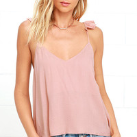 Demure Allure Blush Top