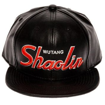 Wutang Limited Edition Vegan Leather Strapback