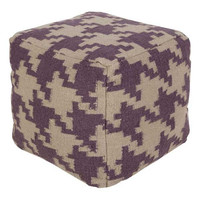 Holly Pouf PURPLE/GRAY