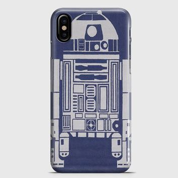 R2-D2 Area Rugs iPhone X Case