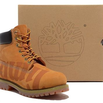 Timberland 6 Inch Large Logo classic yellow timberland boots