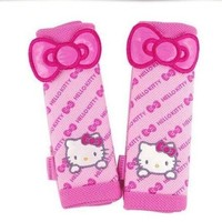 Hello Kitty 2pcs Car Seat Belt Sets Cover