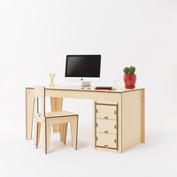 Studio Desk - Modern Solutions for Home or Office | Made in Italy | Plyroom