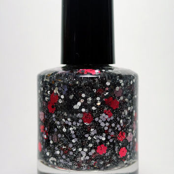 Guns & Roses - Handmade nail polish full bottle