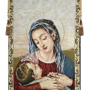 Our Lady of Providence Tapestry Wall Hanging