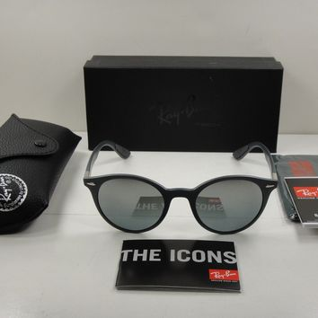 RAY-BAN SUNGLASSES RB4296 633288 GREY FRAME/GREY GRADIENT MIRROR LENS 51MM NEW!