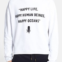 Men's G-Star Raw 'RAW for the Oceans' Graphic Crewneck Sweatshirt