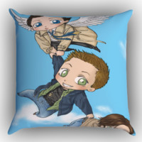 Supernatural arT Z0268 Zippered Pillows  Covers 16x16, 18x18, 20x20 Inches