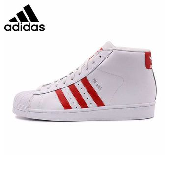 Original New Arrival  Adidas Originals  Superstar leather Men's Skateboarding Shoes Sneakers