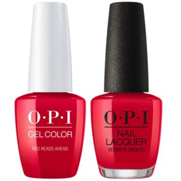 OPI - Gel & Lacquer Combo - Red Heads Ahead