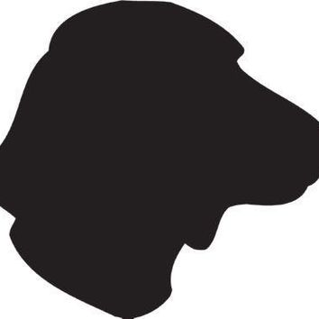 Hamiltonstovare Silhouette Dog Puppy Breed Long Die Cut Vinyl Transfer Decal Sticker