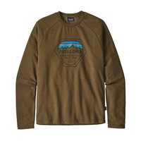PATAGONIA MEN'S FITZ ROY HEX LIGHTWEIGHT CREW SWEATSHIRT