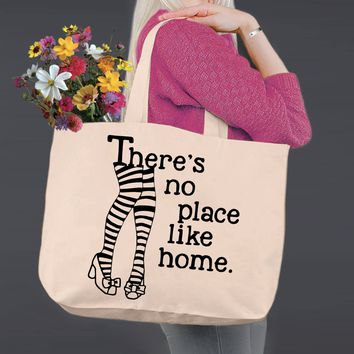 No Place Like Home | Wizard of Oz | Canvas Tote Bag