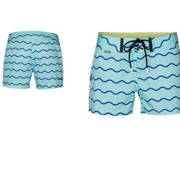 ION boardies Venice - Aruba blue