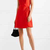 Alice + Olivia - Doralee crepe wrap dress