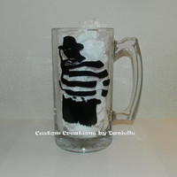 Freddy Krueger inspired beer mug