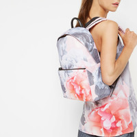Monorose print backpack - Nude Pink | Bags | Ted Baker ROW