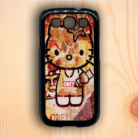 Dream colorful Obey Hello Kitty Samsung Galaxy S3 Case