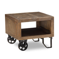 Dupont Side Table RUSTIC BROWN