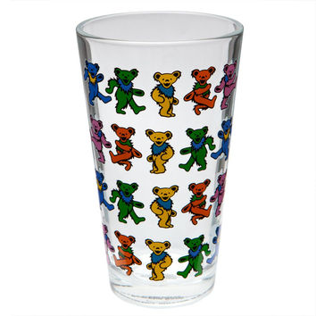 Grateful Dead - Dancing Bears Pint Glass