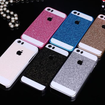 Glitter Case For Apple iphone 5 5G 5S