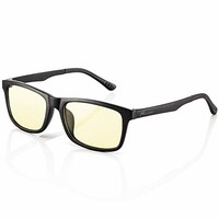 Nacuwa Blue Light Blocking Computer Glasses for Women and Men, Lightweight TR90 Reading Glasses with Yellow Lens, Anti-Glare, Prevent Headaches, Reduce Eye Strain