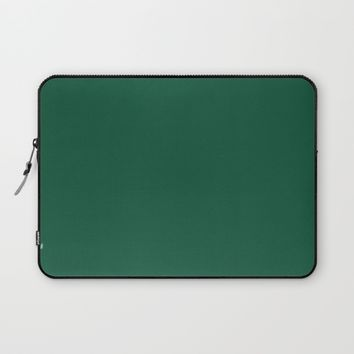 Teal The World (Green) Laptop Sleeve by Moonshine Paradise