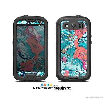 The Neon Navigation Skin For The Samsung Galaxy S3 LifeProof Case
